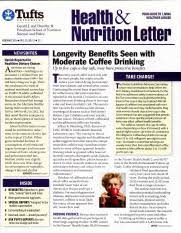 health benefits pdf tufts laalth u n