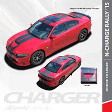 N Charge Rally Dodge Charger Srt Stripes Vinyl Decals 3m Charger 2015 2021 Premium And Supreme Install Speedycardecals Fast Car Decals Auto Decals Auto Stripes Vehicle Specific Graphics