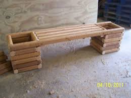landscape timber planter bench plans