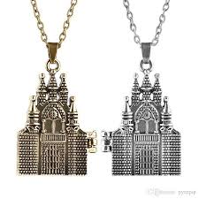 two sided duplex chapel church necklace