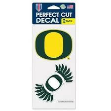 Oregon Ducks Car Window Decal 4 Inch Decal Set Ebay
