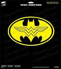Batman Wonder Woman Hero Decal Dc Comics Vinyl Sticker Car Truck Window Laptop Ebay