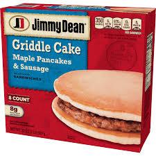 jimmy dean maple pancake sausage