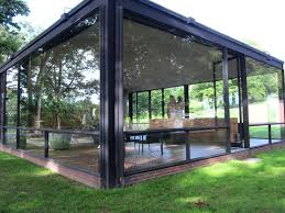 glass house in 2020 container house