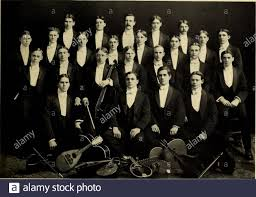 Debris. First TenorsJ. David MinchL. II. PerrineI.. Byron Rogers Glee Club  Miss Millspaugh, Director First Bassos O. A. BerryC. A. NealL. F.  Peckham(.. II. Bowstead .58 Second Tenors George R.