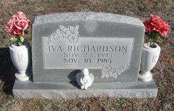 Iva Mills Richardson (1895-1985) - Find A Grave Memorial
