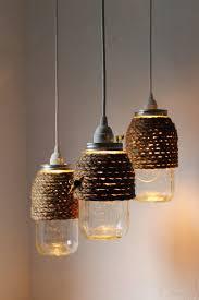 hive quart size mason jar pendant light