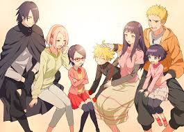 Awesome naruto and sasuke family art | Naruto shippuden anime, Naruto  gaiden, Uzumaki boruto