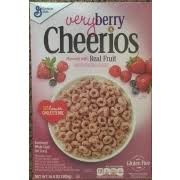 cheerios cereal very berry cheerios