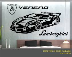 Lamborghini Veneno Lr 750 4 Racing Sport Car Wall Decal 52 X 22 Amazon Com Lamborghini Veneno Sports Cars Vinyl Decal Stickers