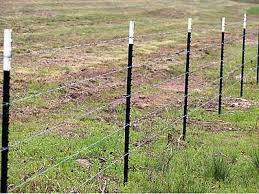 Usa Type T Studded Post For Barbed Wire Or Welded Wire Fencing
