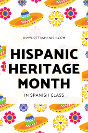 Hispanic Heritage Month Activities and ...