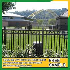 Florence Cheap Wrought Iron Fence Panels Front Yard Fence Panels Square Tube Fencing China Suppliers 2353507