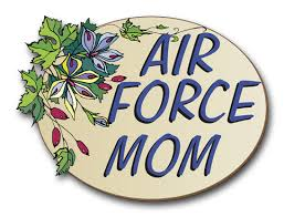 Air Force Mom Pride Vinyl Transfer Decal