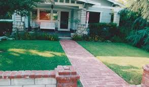 forever moore design faux brick pathway