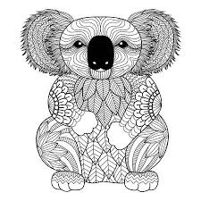 197 Koala Tattoo Stock Illustrations Cliparts And Royalty Free