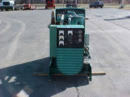 Onan 75 kw natural or propane gas generator set