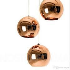 modern style mirror glass ball pendant