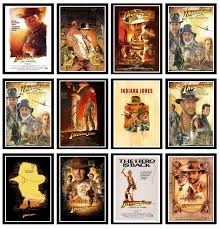 Perfect Jl Posters And Prints Indiana Jones Classic Movie Series Poster Wall Art Picture For Home Decor Wall Stickers Aliexpress