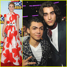 Caroline Sunshine & Adam Irigoyen: Radio Disney Music Awards 2013 | 2013  Radio Disney Music Awards, Adam Irigoyen, Caroline Sunshine, Roshon Fegan |  Just Jared Jr.