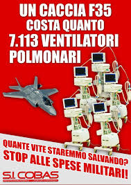 Image result for caccia f35 respiratori