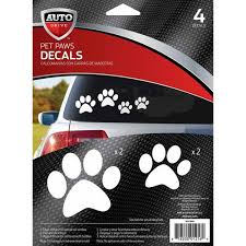 Auto Drive Pet Paws Car Stickers Walmart Com Walmart Com