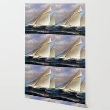 schooner wallpaper for any decor style