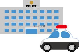 無料イラスト シンプルな警察署