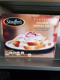 clics creamed chipped beef