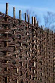 Papillon Premium Weave Willow Hurdle Woven Wicker Wattle Garden Fence Panel 1 8m X 1 8m 6ft X 6ft With 2 In 2020 Fence Panels Garden Fence Panels Willow Fence Panels