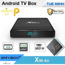 Android TV Box X96 Air - Amlogic S905X3, 4GB Ram, 32GB bộ nhớ trong, Android  9