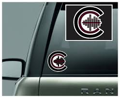 Crimson Club Car Decal Moosemyshirt