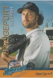 2013 Bridgeport Bluefish Adam Carr – Go Sports Cards