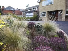 low maintenance front gardens