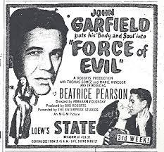 Force of Evil (1948) Abraham Polonsky | Twenty Four Frames