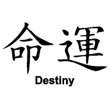 15 9 3cm Chinese Characters Destiny Combinational Creative Car Styling Decal Vinyl Car Stickers Black Silver C9 0338 Car Sticker Vinyl Car Stickersstickers Black Aliexpress