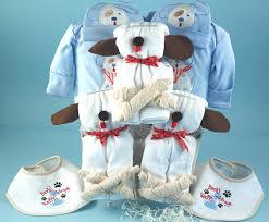 three little puppies gift for triplet boys