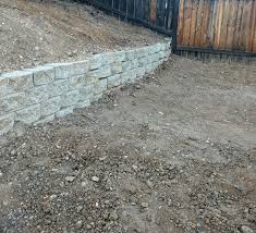 incorrectly built retaining wall can