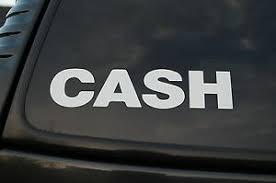 Johnny Cash Sticker Vinyl Decal Country Rock Car Window Truck Pick Size V350 Ebay