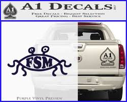 Flying Spaghetti Monster Pastafarian Decal Sticker A1 Decals