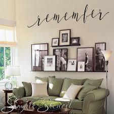 Remember Word Wall Art Decal Memorial Day Rememberance