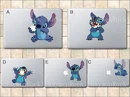 Stitch Decal Macbook Decal Macbook Stickers Mac By Raymonrock 8 50 I Want One Lelo And Stitch Stitch Disney Lilo And Stitch