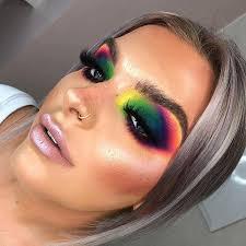 colorful makeup looks saubhaya makeup