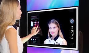 dior presents magic mirror