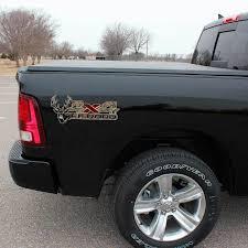 Dodge Ram 4x4 Camouflage Truck Decal Set Deer Hunting Sticker