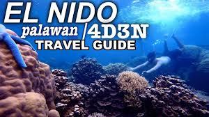 travel guide to el nido palawan