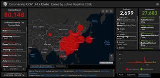 This interactive map tracks Wuhan Coronavirus global cases in near ...