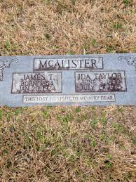 Ida Taylor McAlister (1856-1925) - Find A Grave Memorial