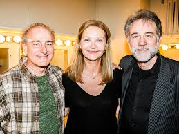 Broadway.com | Photo 2 of 5 | Photos! Original The Heidi Chronicles Stars  Joan Allen, Peter Friedman & Boyd Gaines See the New Revival