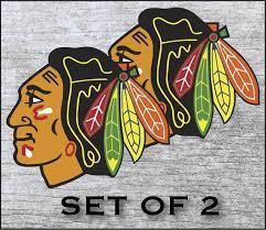 Chicago Blackhawks Sticker Decal Vinyl 12 17 Etsy